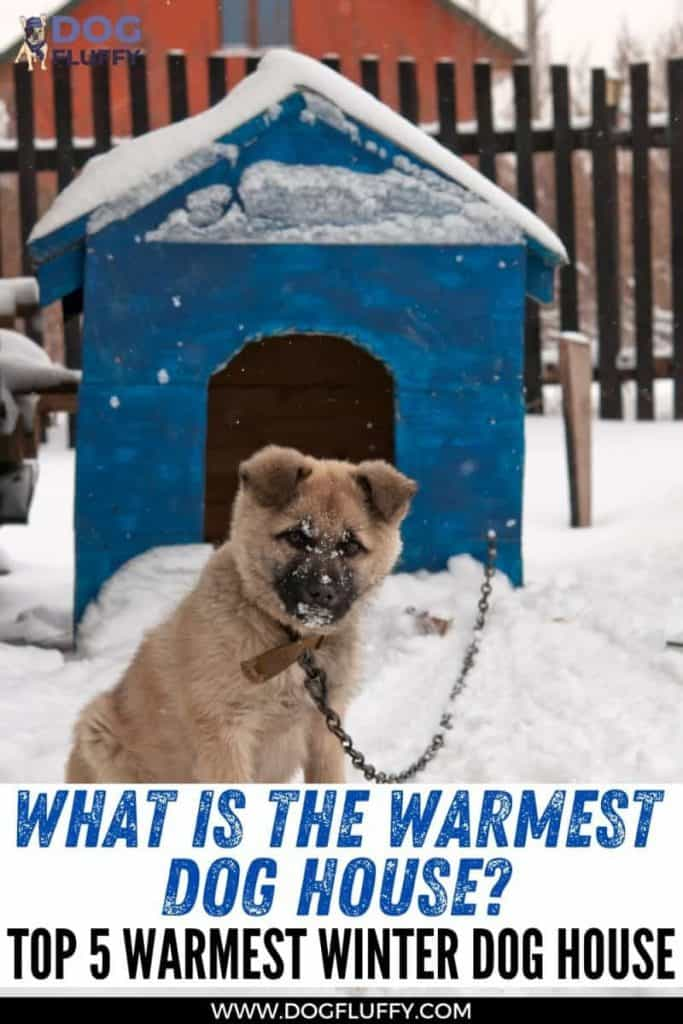 Best 5 Warmest Winter Dog House Pin Image #2