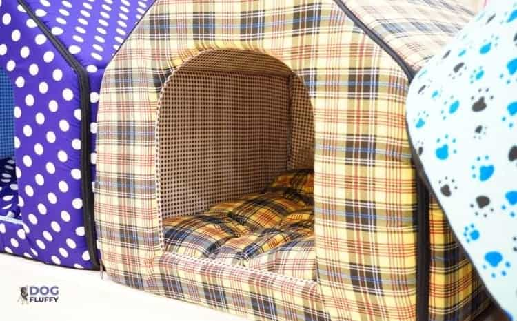 What Is The Warmest Dog House
