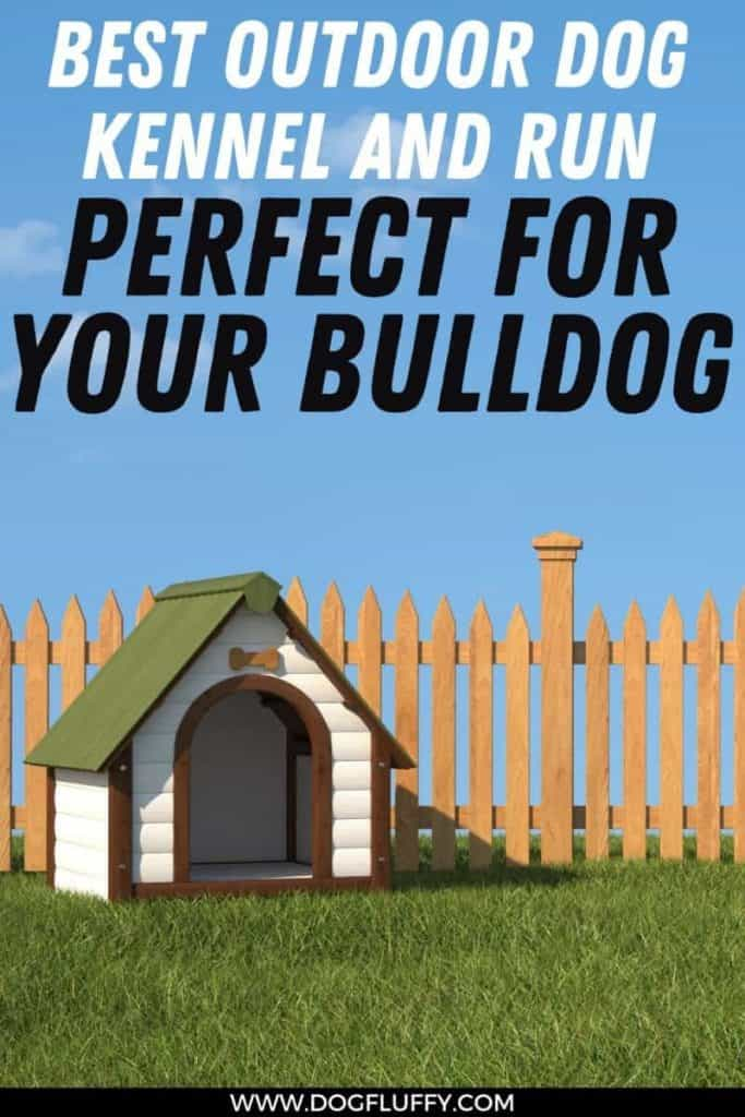 dog kennel and run pin image