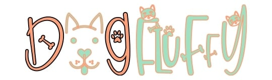 Dog Fluffy logo