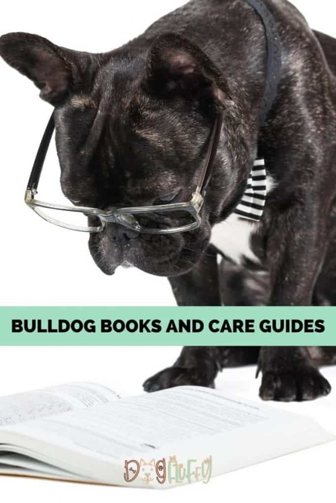 Bulldog Books and Care Guides Pin Image