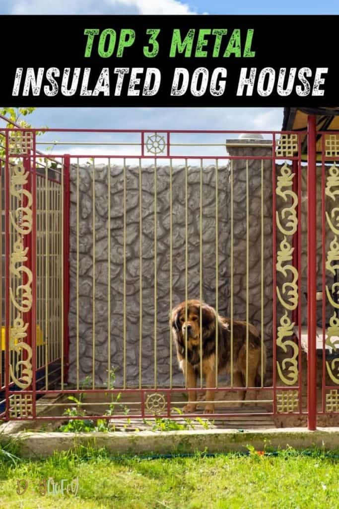 Top 3 Metal Insulated Dog House PIN Image