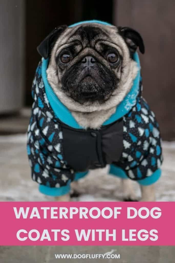 Waterproof Dog Coats With Legs PIN Image