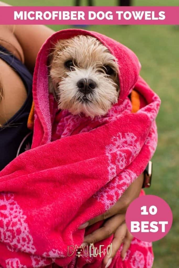 Microfiber Dog Towels Pin Image